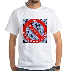 No Marshmallows White T-Shirt