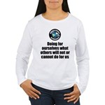 Doing for Ourselves Women's Long Sleeve T-Shirt