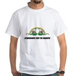 Irish Rainbow White T-Shirt