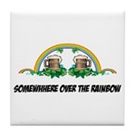 Irish Rainbow Tile Coaster