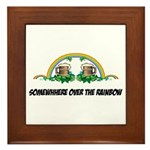 Irish Rainbow Framed Tile