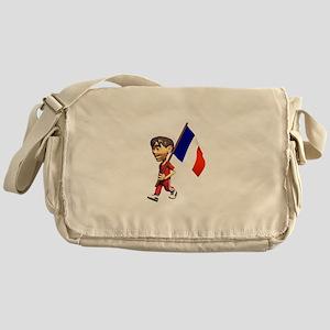 3D France Messenger Bag