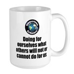 Doing for Ourselves 15 oz Ceramic Large Mug