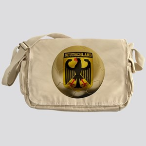 Deutschland Football Messenger Bag