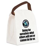 Doing for Ourselves Canvas Lunch Bag