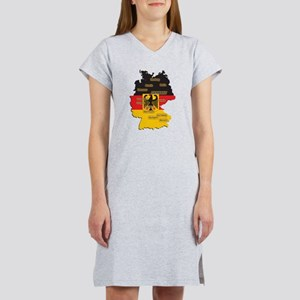 Germany Map Women's Nightshirt