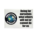Doing for Ourselves Rectangle Magnet (100 pack)