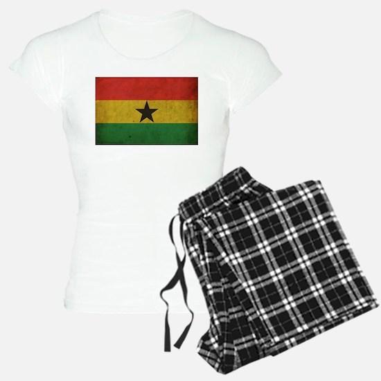 Vintage Ghana Flag Pajamas