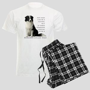 Border Collie Dad Men's Light Pajamas