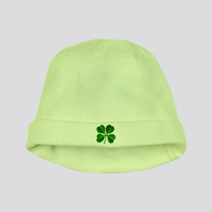 Lucky Charm 4-Leaf Clover Irish baby hat