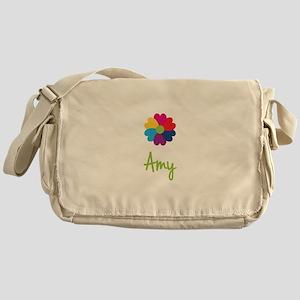 Amy Valentine Flower Messenger Bag