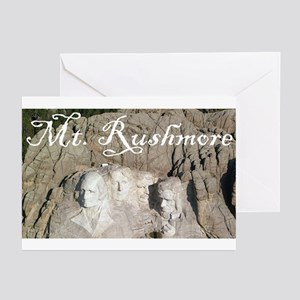 MOUNT RUSHMORE Greeting Cards (Pk of 10)