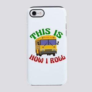 Funny School Bus iPhone 7 Tough Case