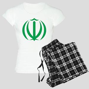 Iran Coat Of Arms Women's Light Pajamas