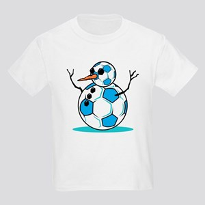 Winter Soccer  Kids T-Shirt