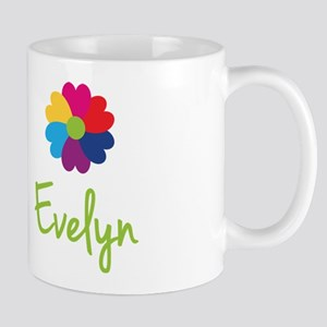 Evelyn Valentine Flower Mug