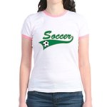 Vintage Soccer  Jr. Ringer T-Shirt