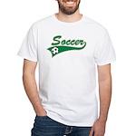 Vintage Soccer White T-Shirt