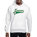 Vintage Soccer Hooded Sweatshirt