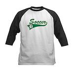 Vintage Soccer  Kids Baseball Jersey