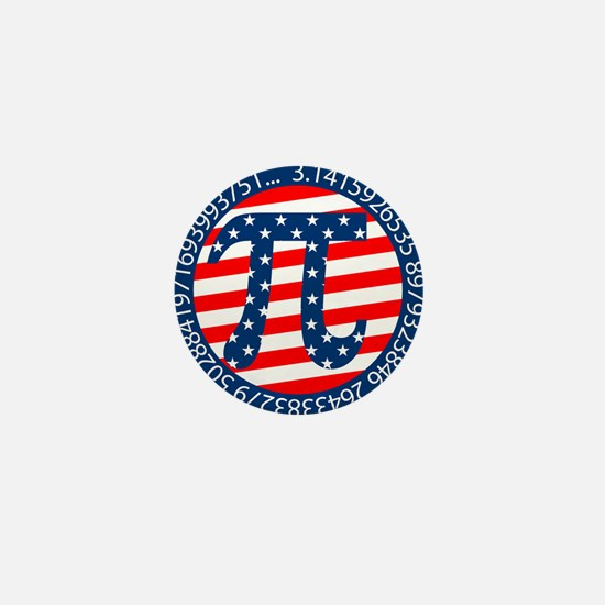 American Pi, Pie Mini Button (10 pack)