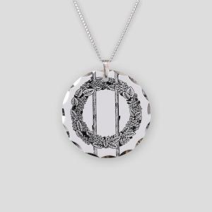Sigil Necklace Circle Charm