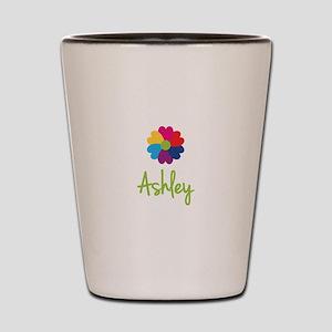 Ashley Valentine Flower Shot Glass