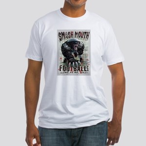 Honey Badger Football Fitted T-Shirt