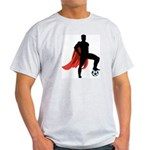 Super Soccer  Ash Grey T-Shirt