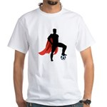 Super Soccer White T-Shirt