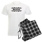 Tribal Malaysia Men's Light Pajamas