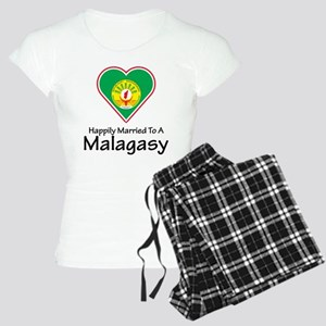 Happily Married Malagasy Women's Light Pajamas