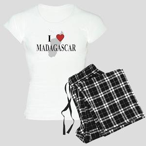 I Love Madagascar Women's Light Pajamas
