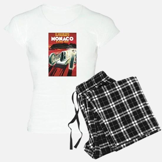Monaco Grand Prix 1930 Pajamas