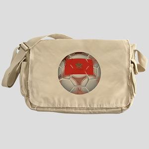 Morocco Soccer Messenger Bag