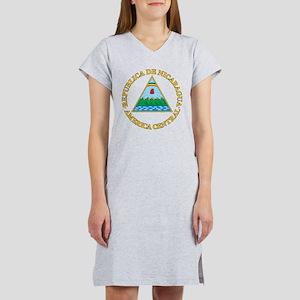 Nicaragua Coat Of Arms Women's Nightshirt