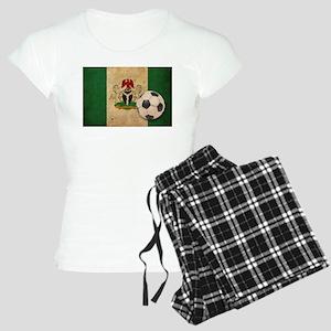 Vintage Nigeria Football Women's Light Pajamas