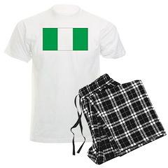 Nigeria Flag Pajamas