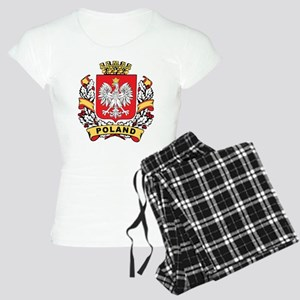 Stylish Poland Crest Women's Light Pajamas