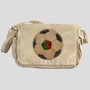 Portugal Football Messenger Bag