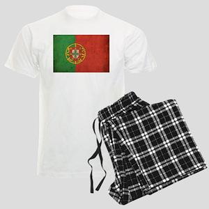 Vintage Portugal Flag Men's Light Pajamas
