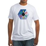 Global Soccer  Fitted T-Shirt