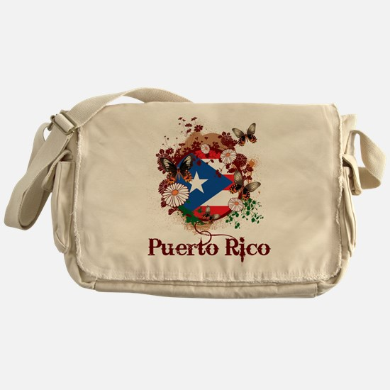 Butterfly Puerto Rico Messenger Bag