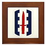 120th Infantry Bde Framed Tile
