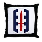 120th Infantry Bde Throw Pillow