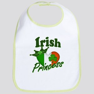 Irish Princess St. Patty's Day Bib