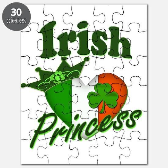 Irish Princess St. Patty's Day Puzzle