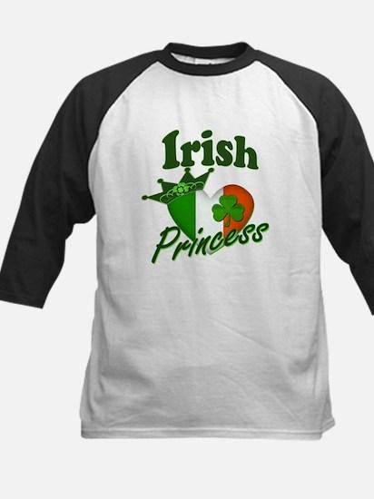 Irish Princess St. Patty's Day Kids Baseball Jerse