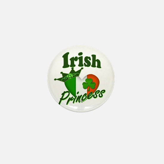 Irish Princess St. Patty's Day Mini Button