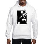Soccer Silhouette Hooded Sweatshirt